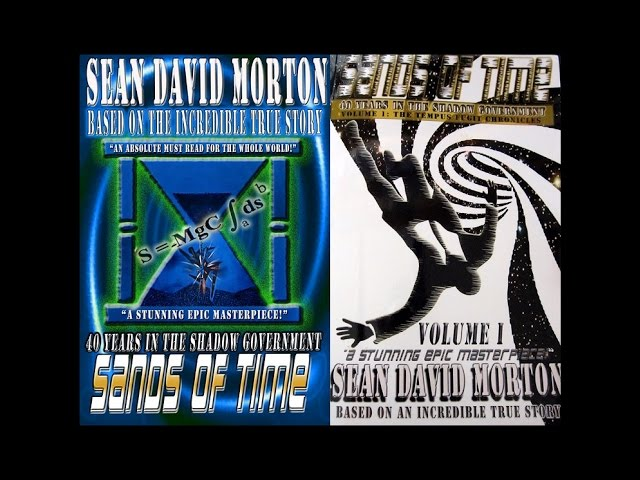 "Victor Nevada's Favourite Book - ""Sands Of Time"" By Sean David Morton"