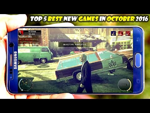 Top 5 Best New Games for Android/iOS in October 2016 || Gamerzed Tv