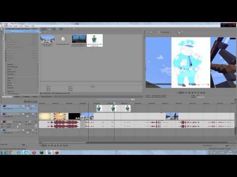 Poradnik Sony Vegas Pro 12 Montaż cięcia efekty rendering : #2