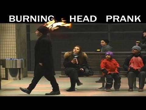 Download Lagu Burning Head PRANK 🔥 -Julien Magic MP3 Free