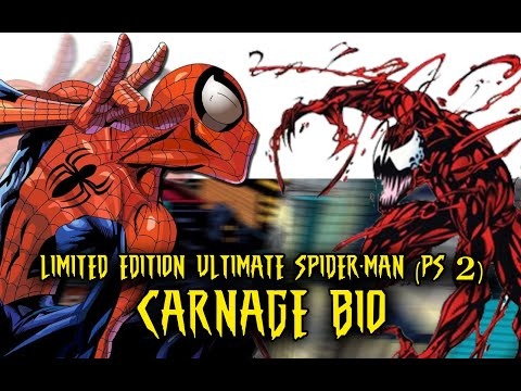 Ultimate Spider-Man (Limited Edition) CARNAGE characters bio