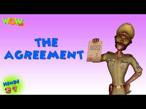 The Agreement - Motu Patlu in Hindi - 3D Animation Cartoon for Kids -As on Nickelodeon thumbnail