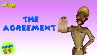 Download The Agreement - Motu Patlu in Hindi - 3D Animation Cartoon for Kids -As on Nickelodeon 3Gp Mp4