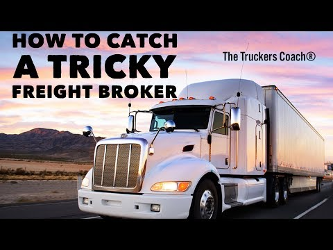 Freight Brokers &  their tricks on Trucking Companies & Owner Operators