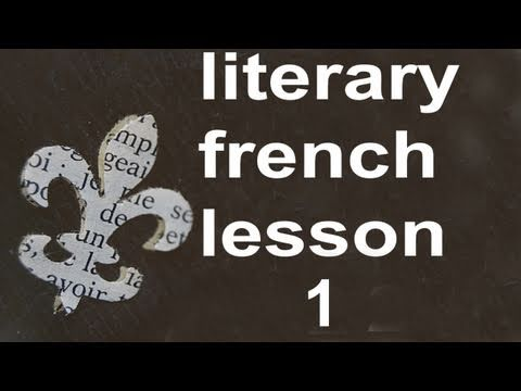 M0001 French Lesson 1 Level 1  Learn to Speak Conversational French. Serial & Oral Method.