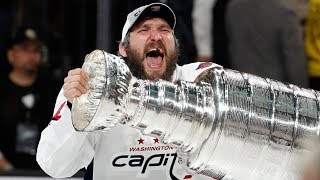 Ovechkin has it all after Conn Smythe & Stanley Cup performance