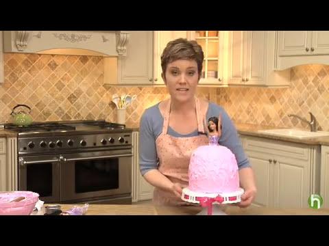 Como fazer um bolo de princesa