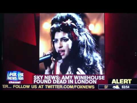 Amy Whinehouse 27 years dead RIP
