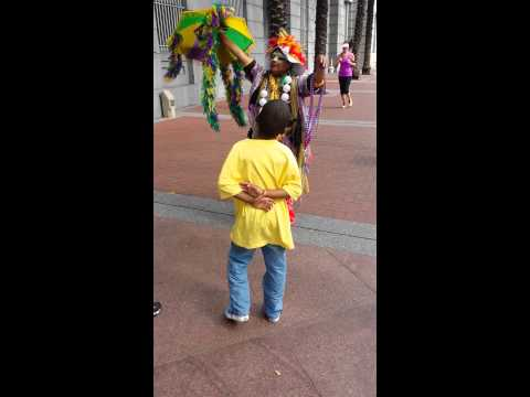 DANCING LADY OF NEW ORLEANS & kids