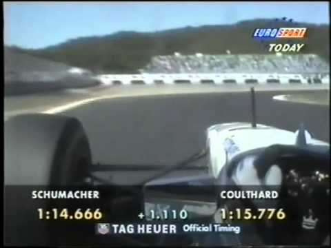 F1 1995 Pacific Grand Prix Friday Qualifying Session Part 3 Eurosport Coverage Commentary John Watson And Ben Edwards.