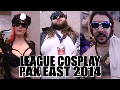 LoL Cosplay at PAX East 2014