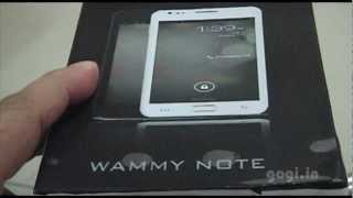 Wammy Note Unboxing and Review