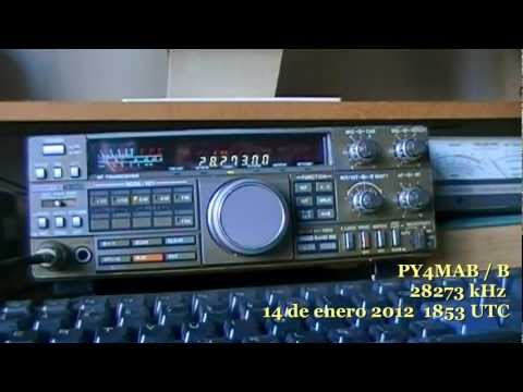 PY4MAB Beacon - 28273 kHz - January 14, 2012 at 1853 UTC