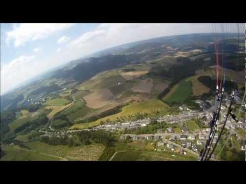 Paragliding im Sauerland