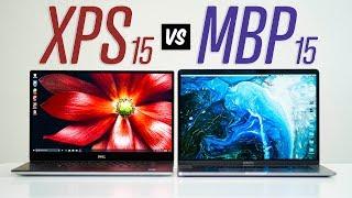 """Dell XPS 15 7590 vs 15"""" MacBook Pro - Full Comparison"""