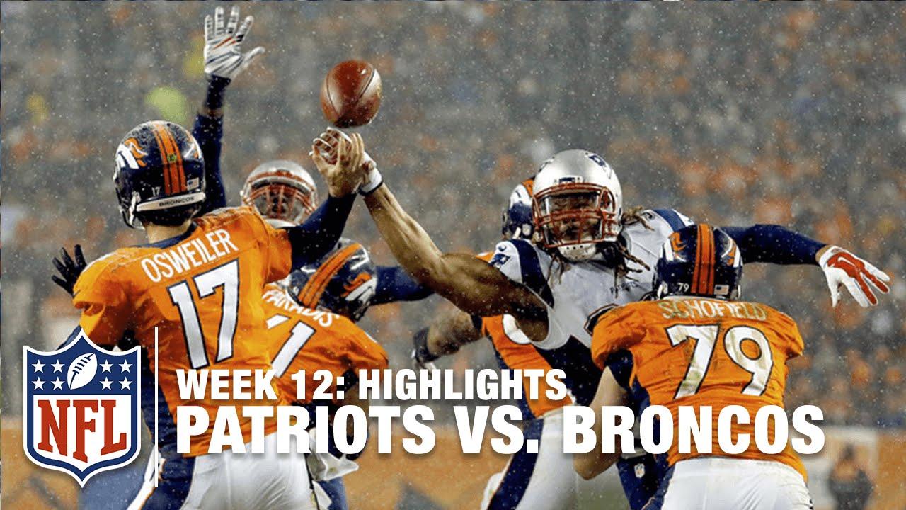 Patriots vs. Broncos | Week 12 Highlights | NFL