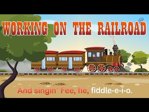 Working on the Railroad (HD with Lyrics) - Popular Nursery Rhymes by EFlashApps