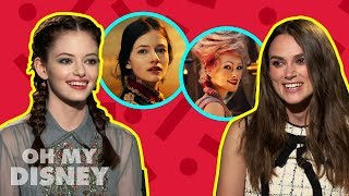 Keira Knightley and Mackenzie Foy on Filming The Nutcracker and the Four Realms | Oh My Disney