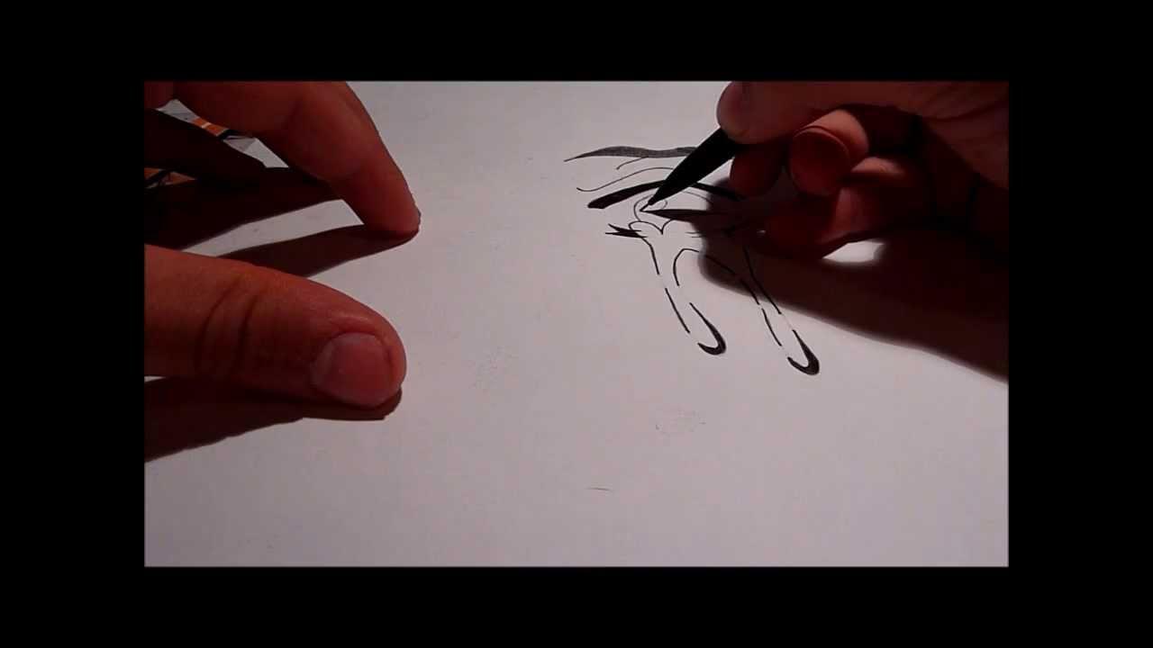 Comment dessiner un oeil manga qui pleure tuto 2 youtube - Comment colorier un manga ...