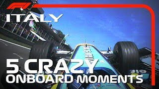5 Crazy Onboards | Italian Grand Prix