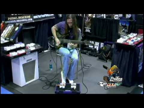Rusty Cooley Playing the Jason Becker Distortion NAMM 2009