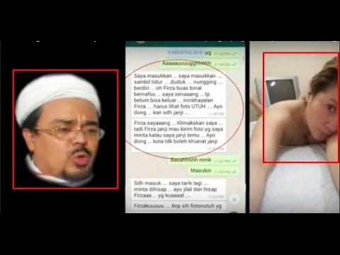 Polisi Menyelidiki Dugaaan Percakapan Tak Senonoh Antara Firza Husein & Habib Rizieq Shihab Di WA