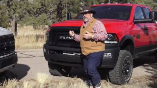 2017 Ram Power Wagon versus 2017 Ford Raptor, Part one Power Wagon