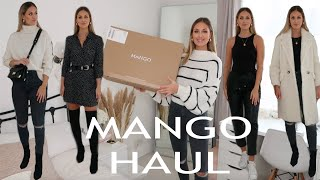 MANGO AUTUMN/WINTER HAUL & TRY ON