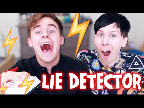 SHOCKING LIE DETECTOR! (with Connor and Phil)
