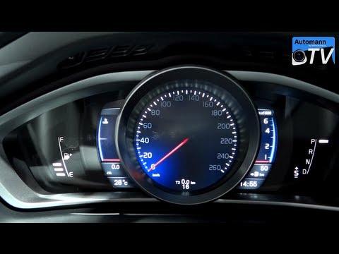 2013 Volvo V40 T5 R-Design (254hp) - In Detail (1080p FULL HD) - YouTube