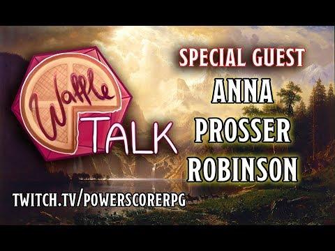 Waffle Talk: DCA 102 Guest - Anna Prosser Robinson