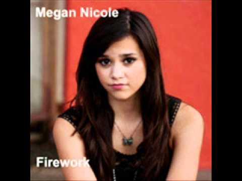Megan Nicole-Firework (lyric)