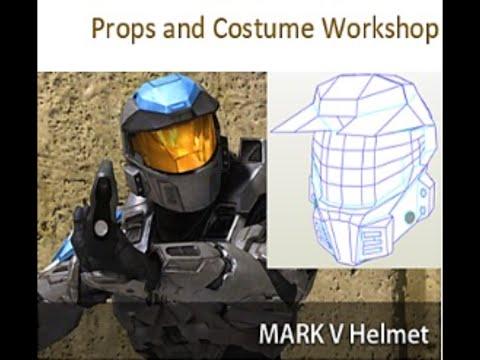 Halo Mark V Helmet: Props & Costume Workshop