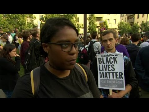 Black Lives Matter protests in the UK