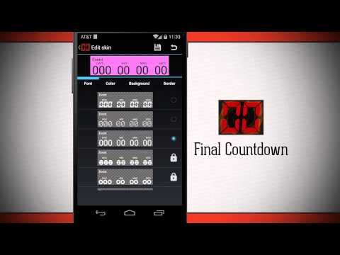 Final Countdown Widget Free Android App Market