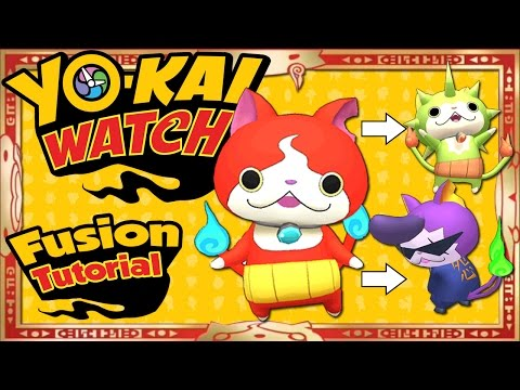 Yo-Kai Watch - ALL 27 Yo-Kai Fusions + ALL 16 Item Fusions! [Tips & Tricks]