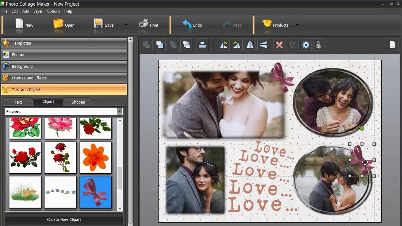 Abstract Collage Maker Easy Collage Maker For Windows
