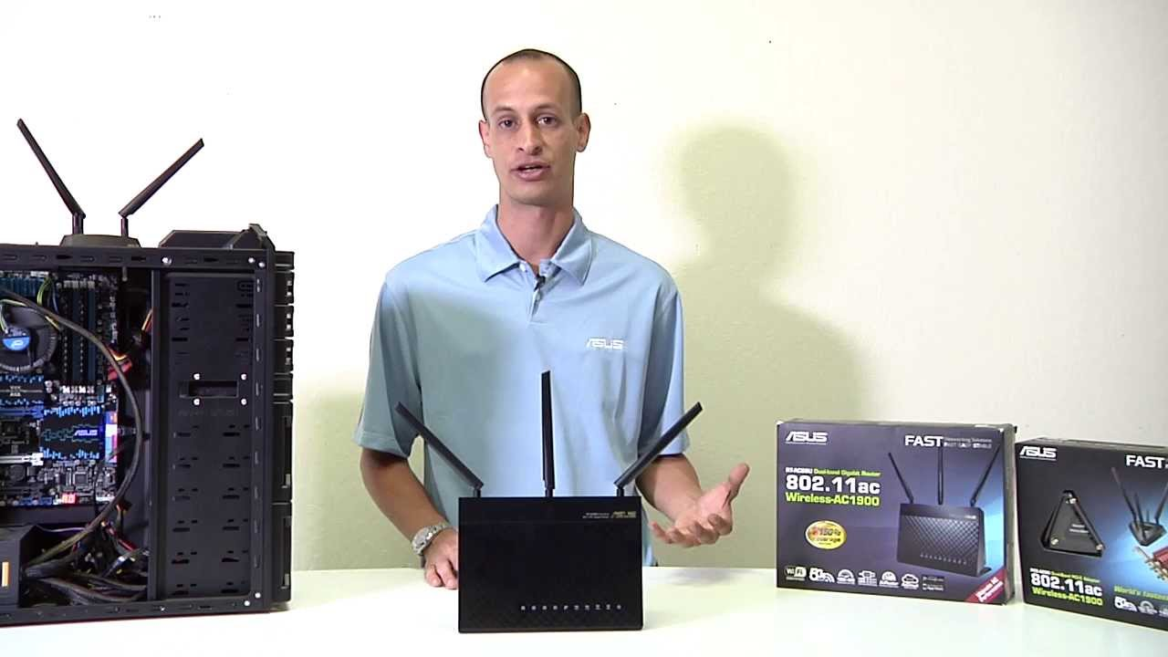 Antenna Router Asus Asus Rt-ac68u Router Overview