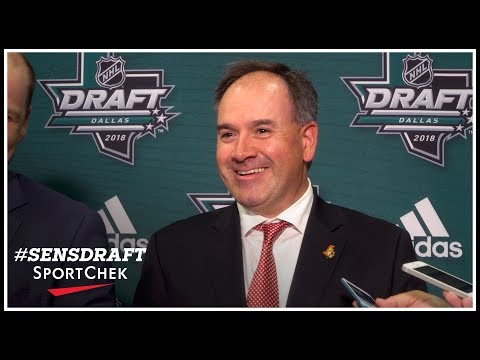 Trent Mann and Pierre Dorion after round one