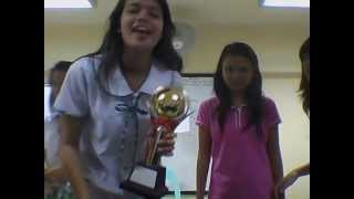 Claire Bercero w/ BNAHS SSG SY 2012-2013 (CALL ME MAYBE)