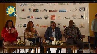 بالفيديو: تكريم ليلى علوى وخالد يوسف في مهرجان الأقصر للسينما الأفريقية