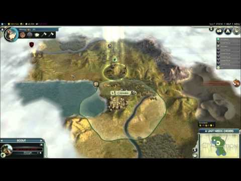 Civ 5 with Community Call to Power Project Mod