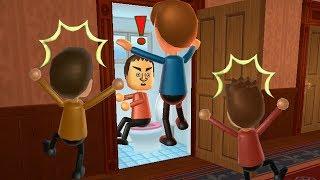 Wii Party Minigames - Player Vs Oscar Vs Fritz Vs Michael
