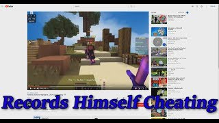 The State of Ranked Skywars (Leaderboard Player CHEATS IN THEIR OWN VIDEO)