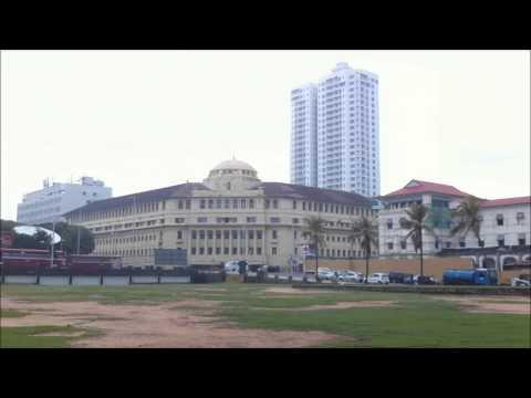Galle Face Green Sri Lanka Colombo Travel Destination
