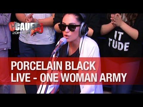 Porcelain Black - One Woman Army - Live - C'Cauet sur NRJ