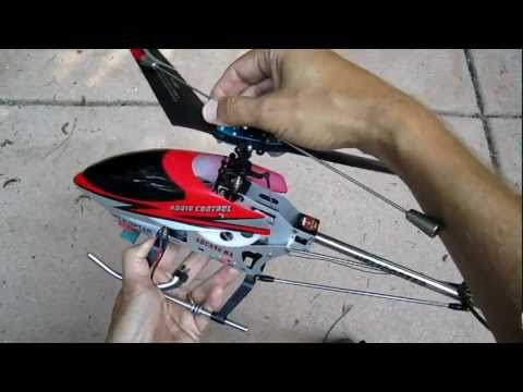 Double Horse 9104 RC helicopter review. modifications. and comparison to Volitation 9053