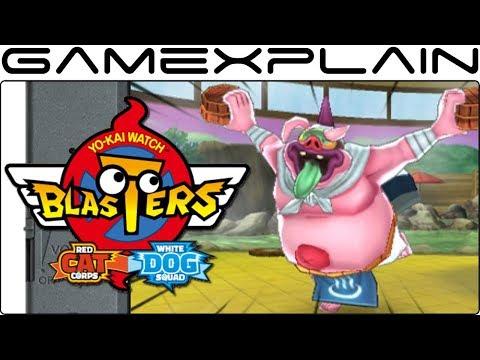 15 Minutes of Yo-kai Watch Blasters Multiplayer Gameplay (3DS)