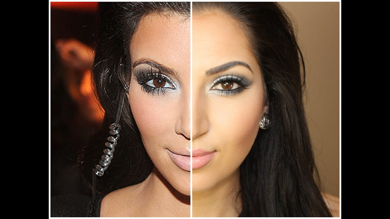 MAKEUP KARDASHIAN KIM routine all  Highly Requested   YouTube ALL DRUGSTORE  makeup natural