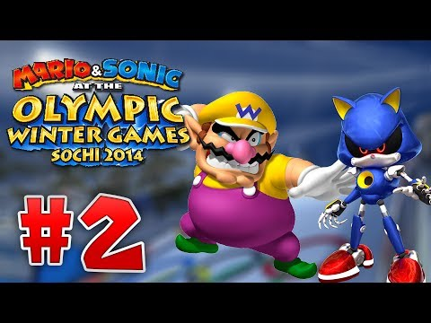 Mario and Sonic At the 2014 Sochi Olympic Winter Games - Part 2